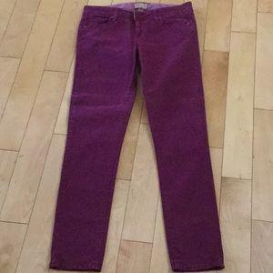 PAIGE Burgandy Jeans Size 26